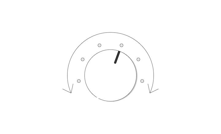 Minh họa điều khiển âm lượng