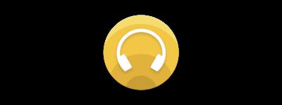 Logo Sony I Headphones Connect