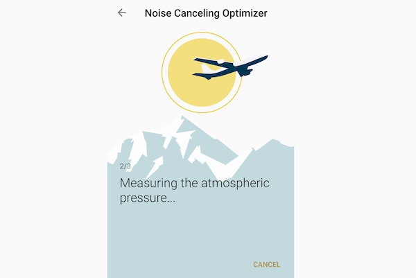 Tính năng Tối ưu áp suất không khí của WI-1000X