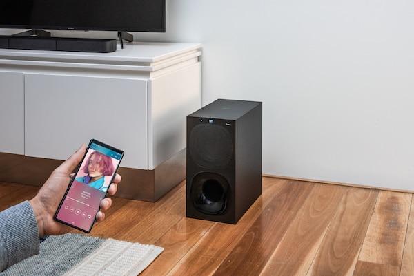 HT-S20R với khả năng kết nối Bluetooth®