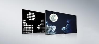 Đèn LED nền toàn dải và X-tended Dynamic Range PRO