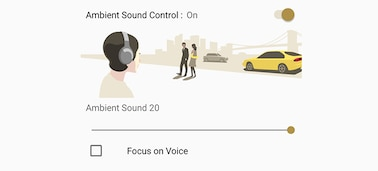 Ảnh của Tai nghe In-ear chống ồn không dây WI-1000X
