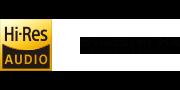 Logo Âm thanh độ phân giải cao và S-Master HX™