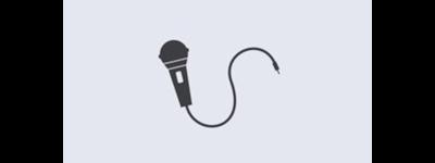 Biểu tượng micro karaoke