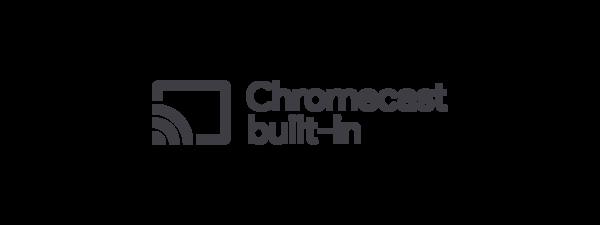 Logo Chromecast built-in
