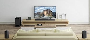 Ảnh của Hệ thống Loa thanh Home Cinema 5.1 kênh, tích hợp Bluetooth®