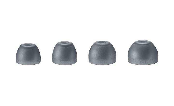 4 kích cỡ miếng đệm tai cao su silicon hỗn hợp khác nhau