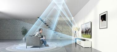 Ảnh của Loa thanh Dolby Atmos 7.1.2 kênh, tích hợp Bluetooth® và Wi-Fi