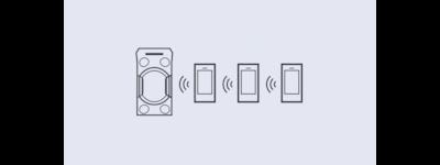 Hình ảnh minh họa kết nối nhiều thiết bị