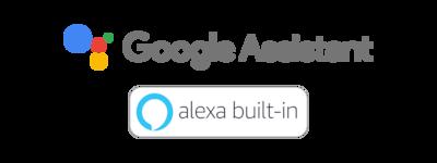 Logo tích hợp sẵn Google Assistant và Alexa