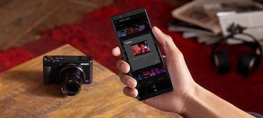 Gửi video đến điện thoại thông minh mọi lúc mọi nơi với Imaging Edge Mobile