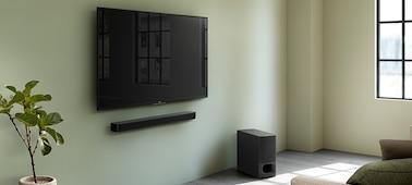 Ảnh của Loa Soundbar 2.1 kênh với loa subwoofer không dây mạnh mẽ và công nghệ BLUETOOTH® | HT-S350