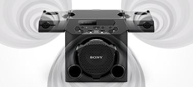 Ảnh của Hê thống âm thanh mạnh mẽ linh hoạt tích hợp Pin GTK-PG10