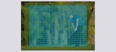 Ảnh của α9 với cảm biến CMOS xếp chồng full-frame