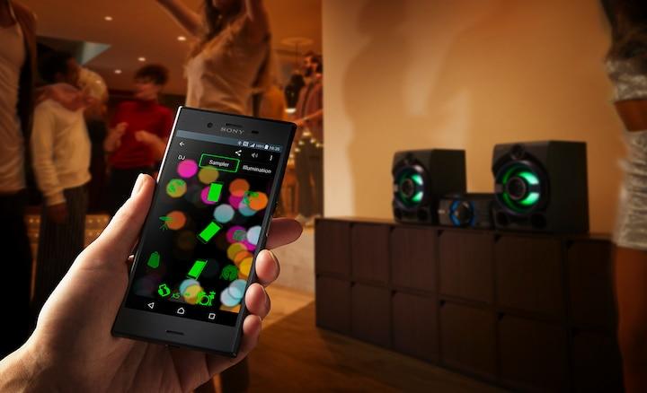 Điện thoại thông minh của Sony đồng bộ hóa với hệ thống loa