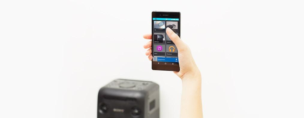 Hình ảnh của Hệ thống âm thanh tại nhà công suất cao với công nghệ BLUETOOTH®