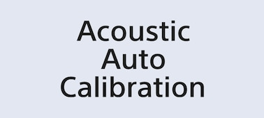 Logo Acoustic Auto Calibration