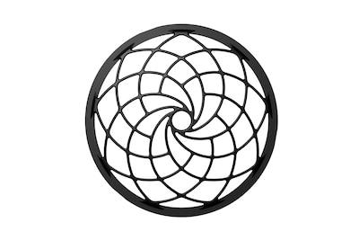 Lưới loa có họa tiết theo quy luật của dãy Fibonacci