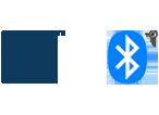 Logo NFC & BLUETOOTH®