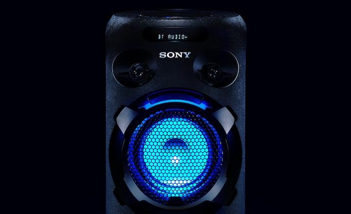MHC-V02 với đèn loa LED
