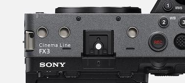 Hình ảnh lỗ vít ở bảng điều khiển mặt trên của FX3