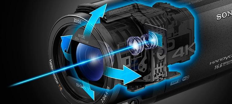 Ảnh của AX43 4K Handycam® có cảm biến Exmor R™ CMOS