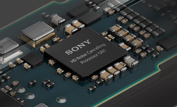 Chi tiết bảng mạch với Bộ xử lý chống ồn HD QN1