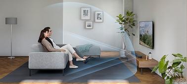 Ảnh của Loa thanh Dolby Atmos® 2.1 kênh/DTS:X™, tích hợp Bluetooth® | HT-X8500