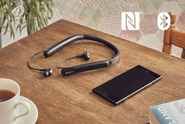 WI-1000X NFC và BLUETOOTH ®