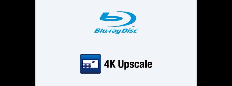 Nâng cấp 4K và đầu phát đĩa Blu-ray™