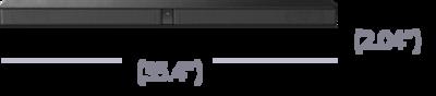 Ảnh của Loa Soundbar 2.1 kênh với công nghệ Bluetooth®