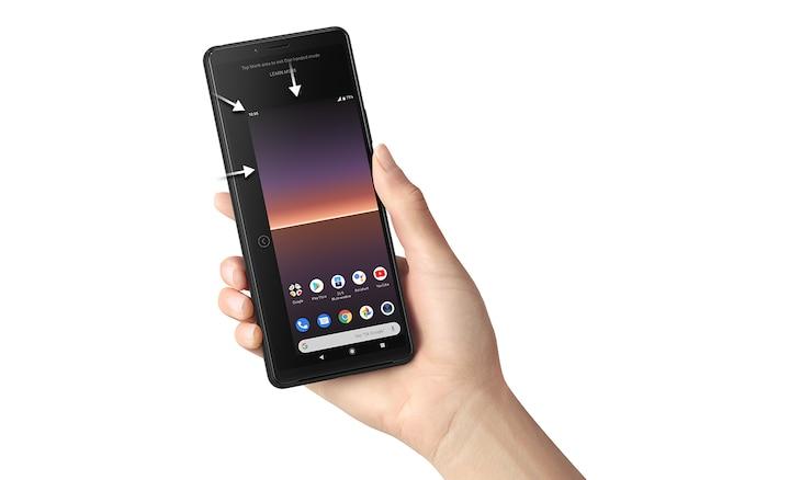 Xperia 10 II với tính năng màn hình mini