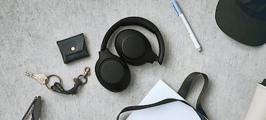 Ảnh của Tai nghe không dây có công nghệ chống ồn WH-XB900N